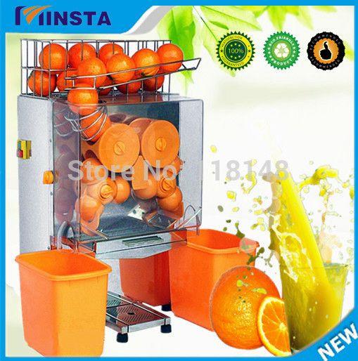 Free Shipping 220v Electric Automatic Fresh Orange Extracting