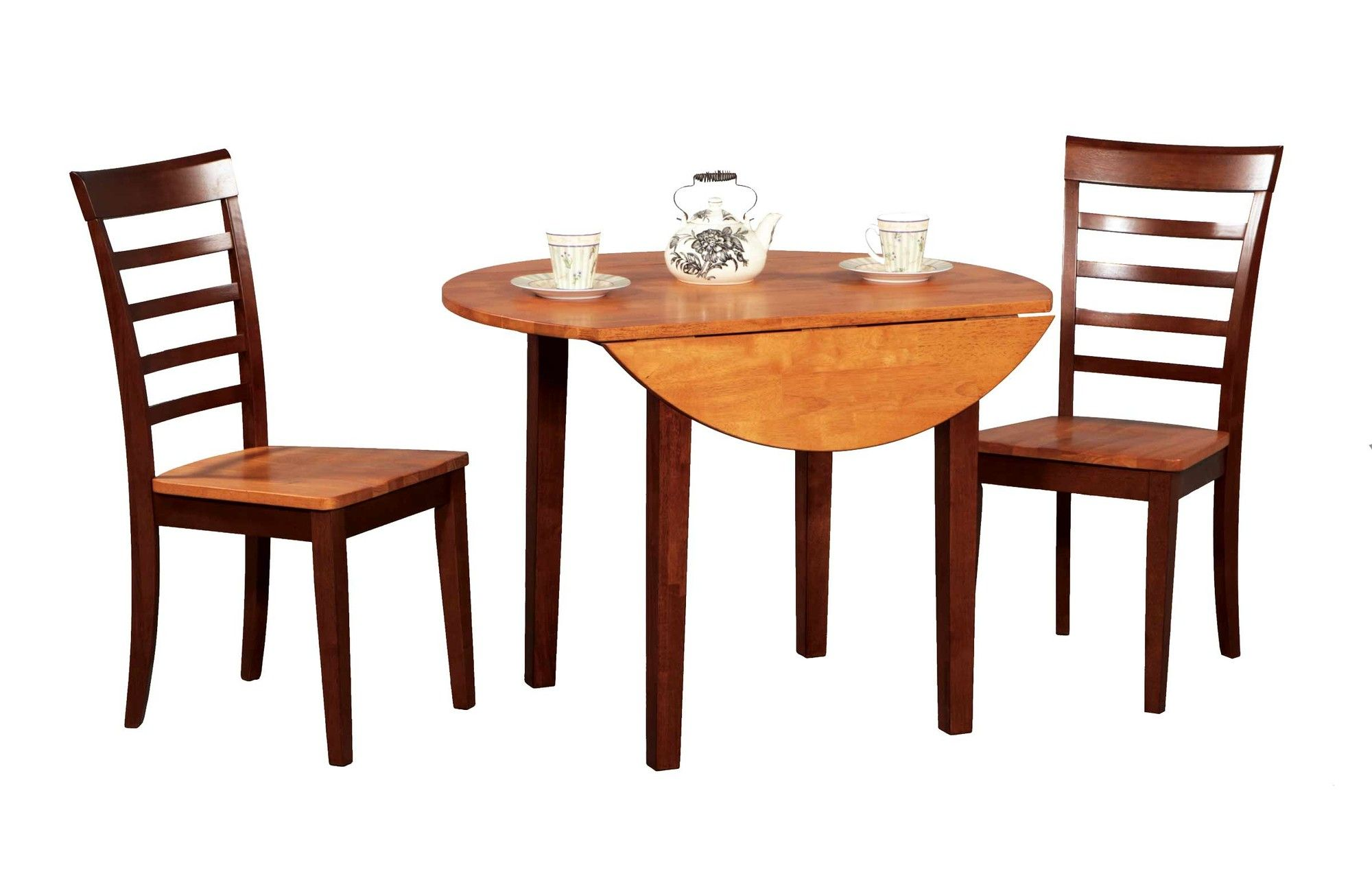 Contemporary Farmhouse 3 Piece Dining Set - Wayfair