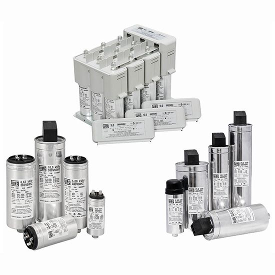 Capacitors For Power Factor Correction Power Factor Correction Controls Products Services United States Weg Capacitors Correction Power