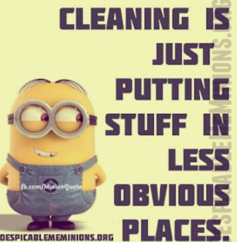 Unless It Is My Mom Cleaning My Room Like When I Went To Camp That Is Real Clean Funny Minion Quotes Minions Funny Minion Quotes