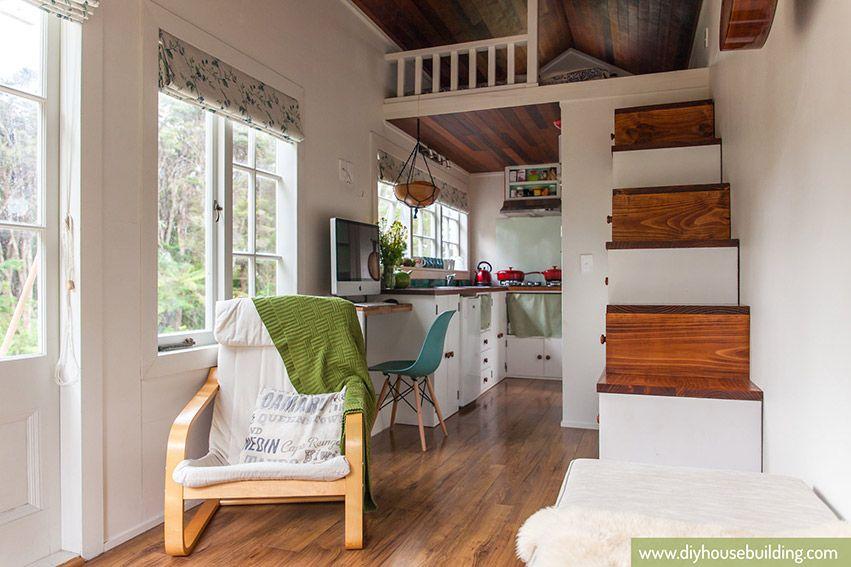 Tiny Trailer House Interior