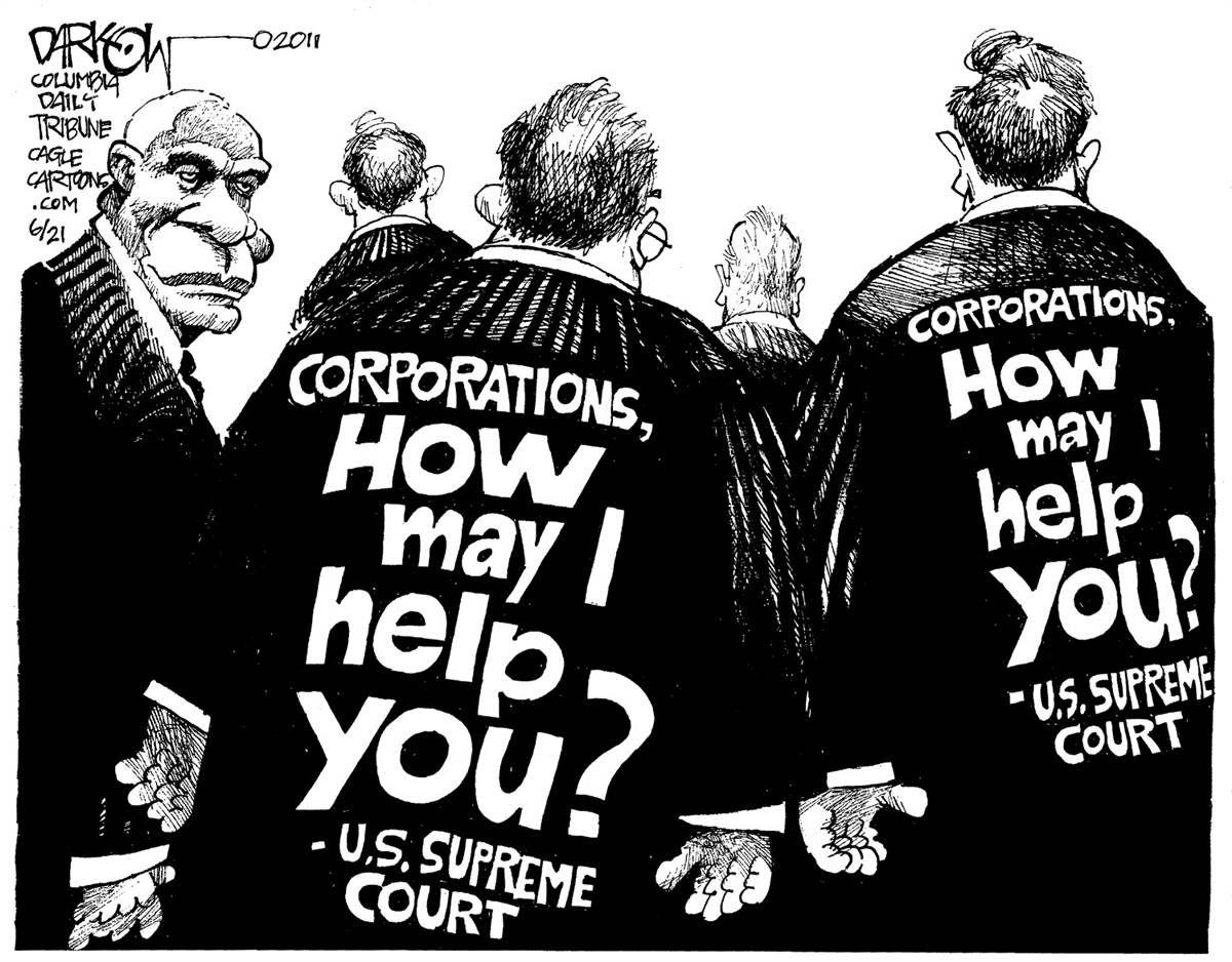 scotus cartoon corporate the week s cartoons mocking our scotus cartoon corporate the week s cartoons mocking our corporate bought scotus walmart
