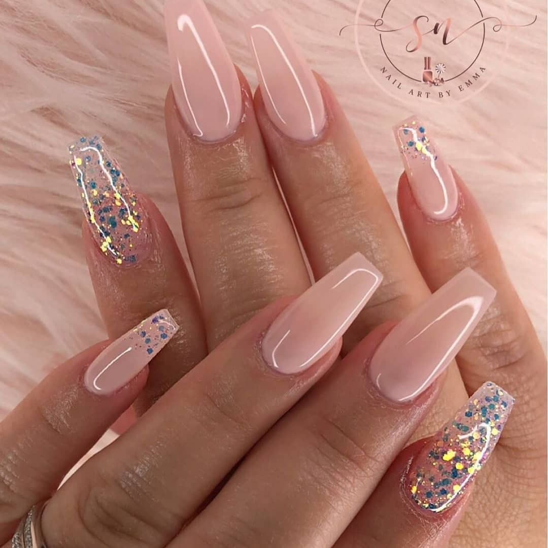 2019 Beautiful Nails To Rock With Images Ballerina Nails