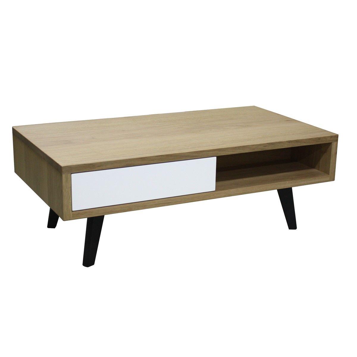 table basse double plateaux en metal hiba. Black Bedroom Furniture Sets. Home Design Ideas