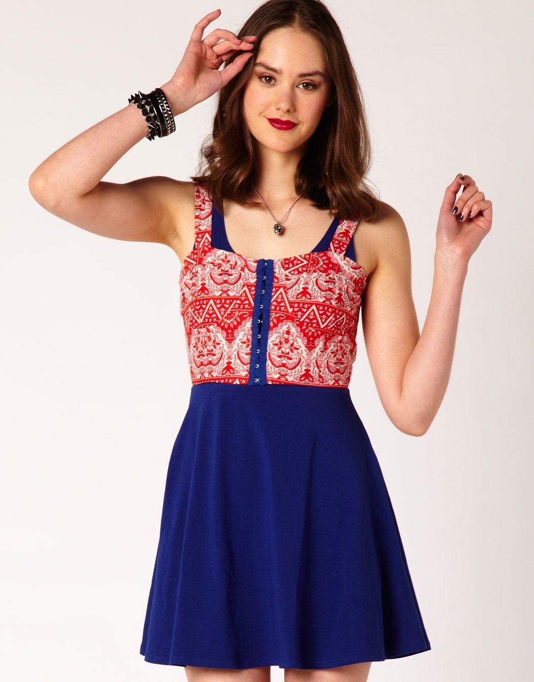 Glassons - Printed Bustier | Fashion clothes women ...