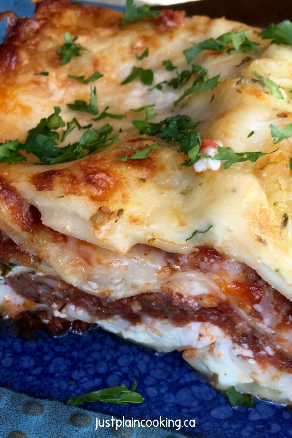 Classic meat lasagna with five cheeses recipe in 2020