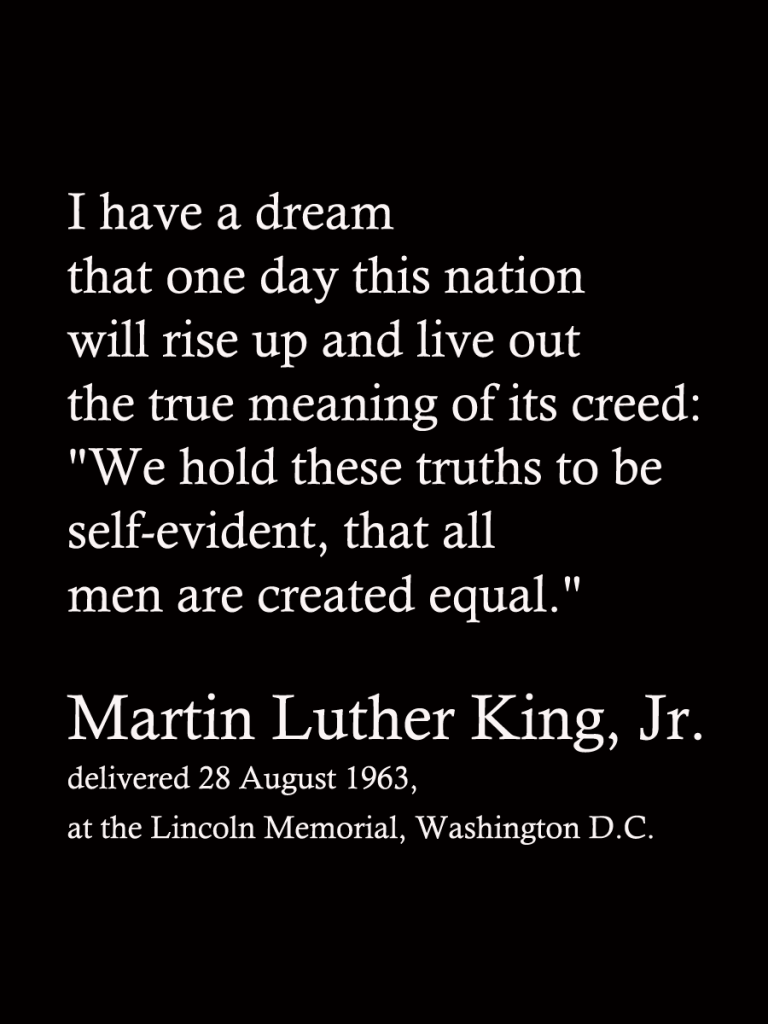 Martin Luther King Jr I Have A Dream Speech Quotes Inspiration I Have A Dream Mlk Jrquote Filler Card  Wisdom  Pinterest