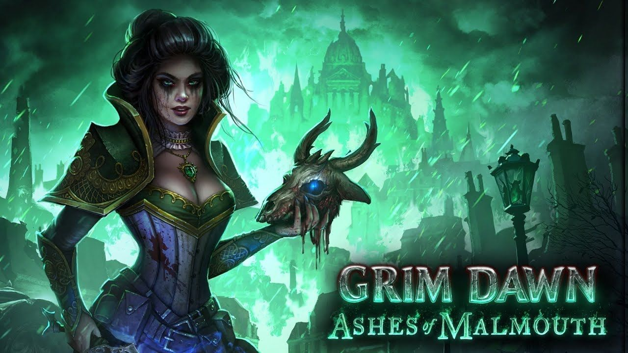 Grim Dawn S First Major Expansion Ashes Of Malmouth Released Today Gamer News Dawn Necromancer
