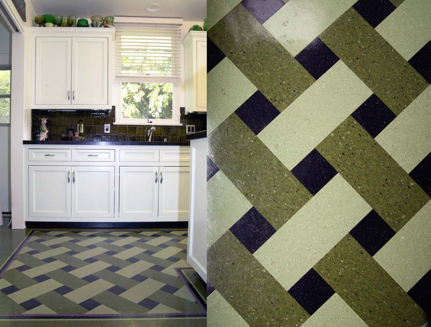 30 best plaid floors images on pinterest cork flooring flooring unique custom designed inlay linoleum and cork flooring and rugs based in los angeles and san francisco dailygadgetfo Images