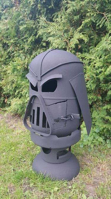 darth vader Starwars feuerschale feuertonne Darth vader and Starwars - feuertonne selber machen
