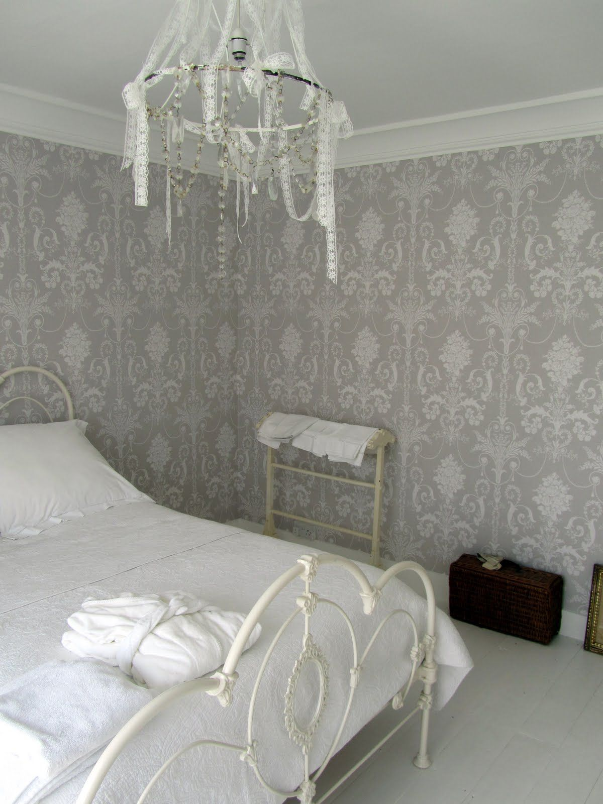 Josette Dove Grey - Laura Ashley  Laura ashley bedroom, Bedroom