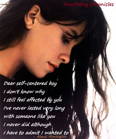I relate!! By the way, this song is posted on NARS - Sing Your Song board.  Alanis Morissette // Narcissus