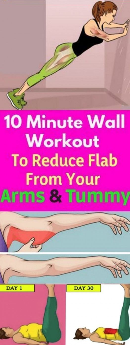 In just 10 minutes these wall workout wish sculpt your glutes thighs abs shoulders and arms while ge...