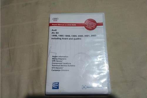 For Sale Repair Manual Dvd Rom B5 A4 S4 Repair Manuals Repair Rom