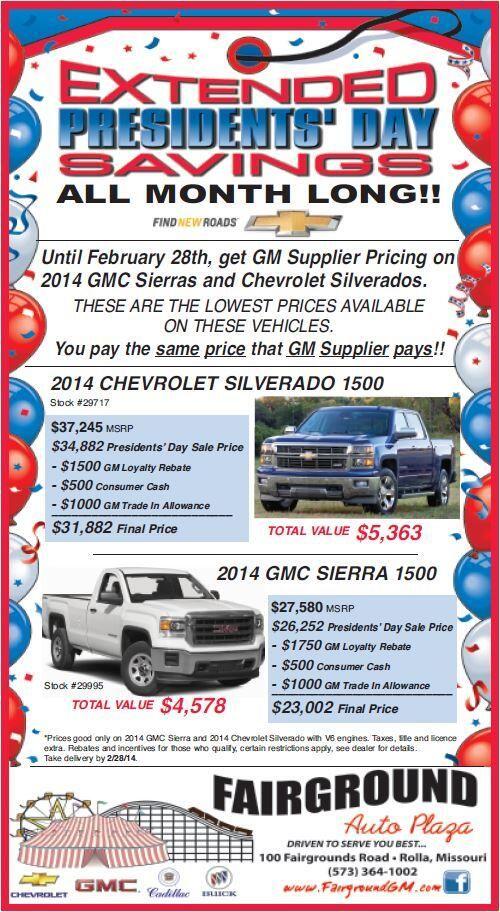Save Big On A 2014 Silverado Or Sierra!