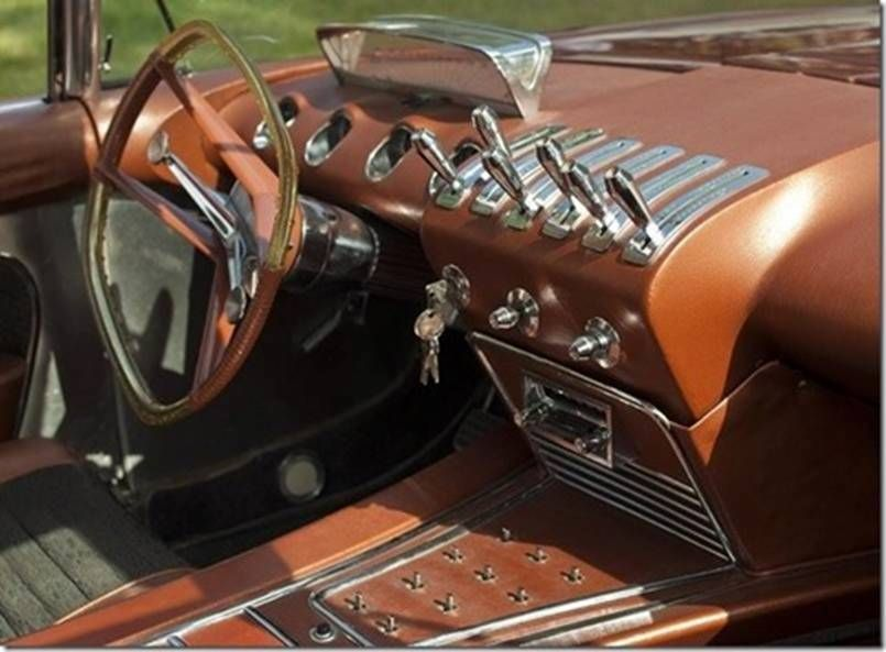 bobby darin 39 s 1960 custom dream car didia 150 interior dashboard cars pinterest. Black Bedroom Furniture Sets. Home Design Ideas