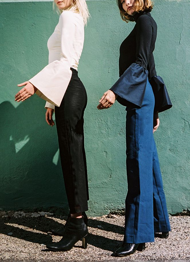 If you're not familiar with Staud, be prepared to fall in love with a collection of understated, vintage-inspired clothing that emanates an irresistible cool factor. Reformation's former fashion director Sarah Staudinger, along with business partner George Augusto, launched Staud in 2015 with the