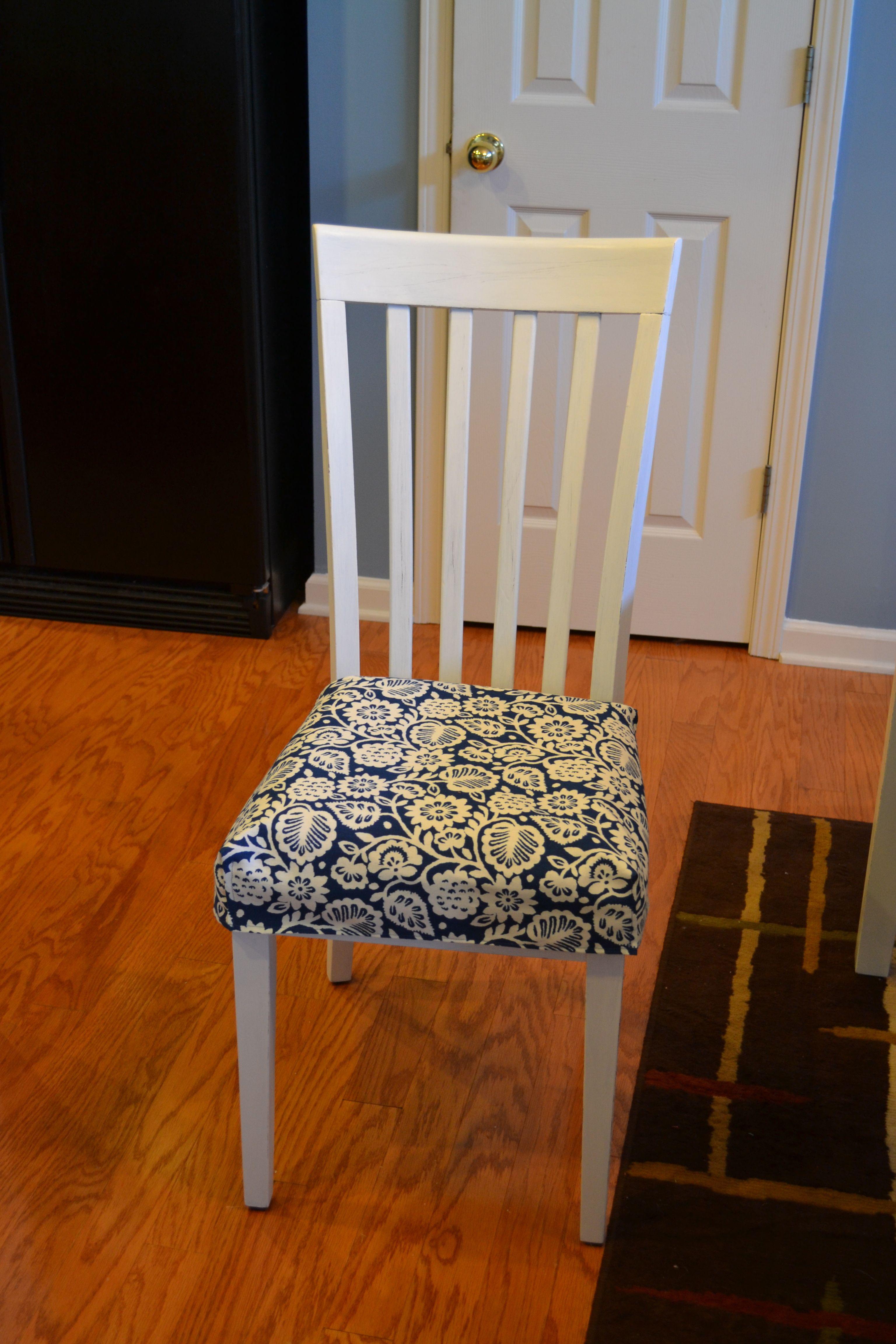 Cute Kitchen Chair Cushion Tutorial Kitchen Chair