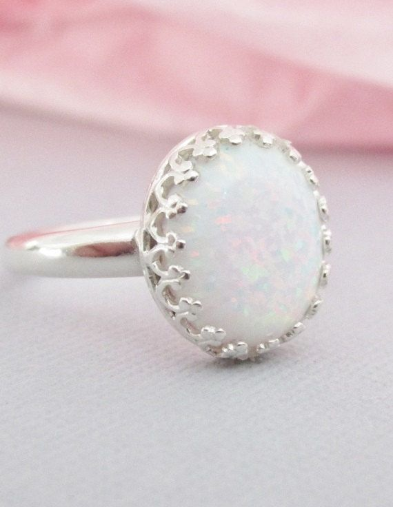 Opal Ring Sterling Silver Opal Jewelry Oval Opal Ring Opal Jewelry October B  Opal Ring Sterling Silver Opal Jewelry Oval Opal Ring Opal Jewelry October Birthstone