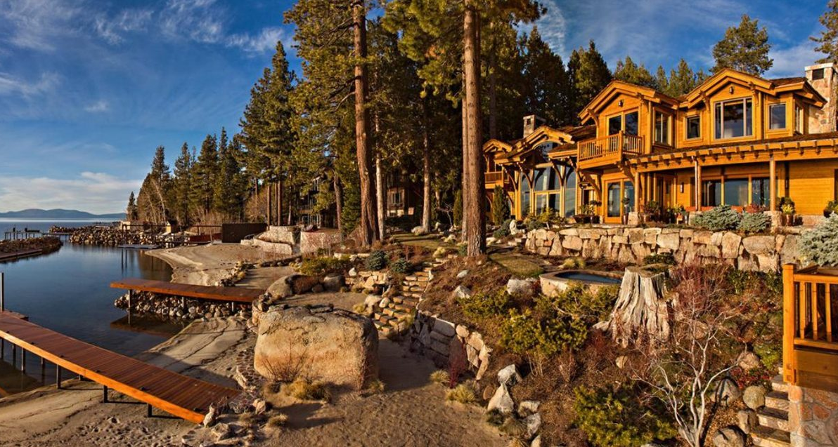Casa di lusso di Larry Ellison, CEO di Oracle, sul Lago Tahoe | lussocase.it