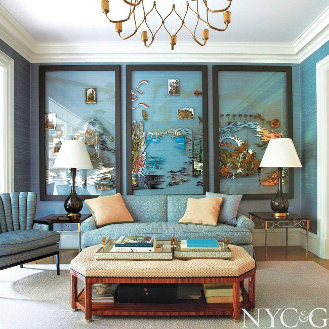 Living Room Furniture North York: Designer Steven Gambrel Returns A Greenwich Village Row