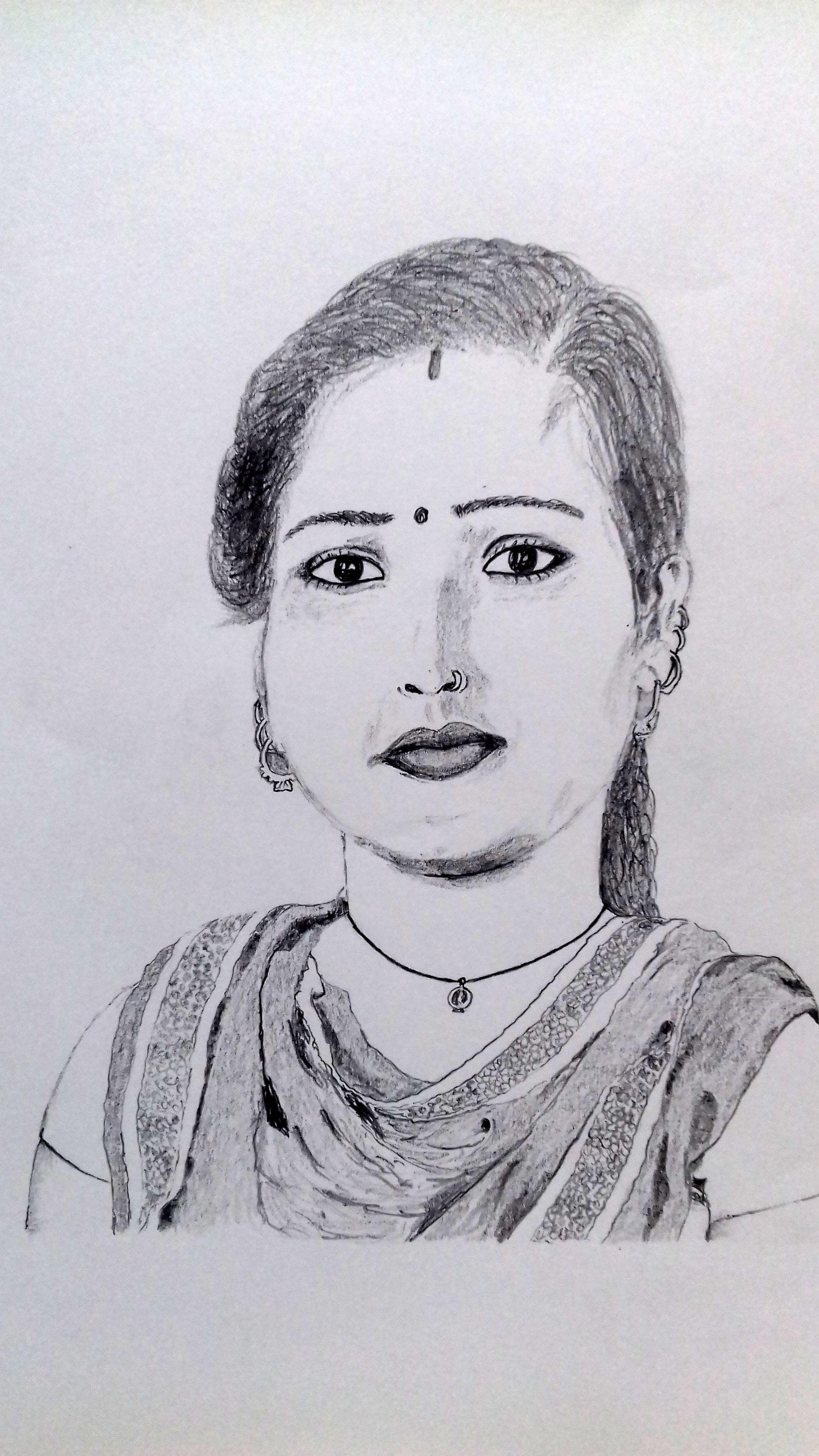 Indian lady wearing traditional punjabi dress