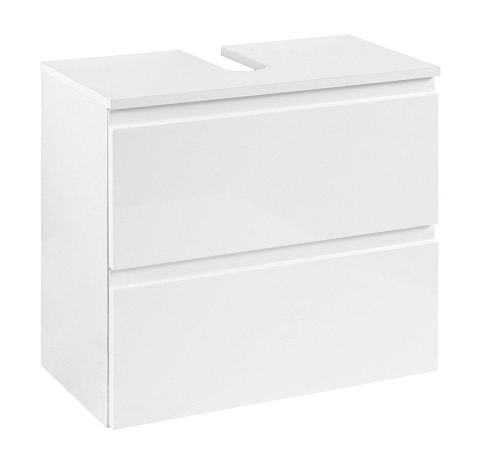 Waschbeckenunterschrank hängend ohne waschbecken  Held Möbel Waschbeckenunterschrank »Cardiff«, Breite 60 cm ...