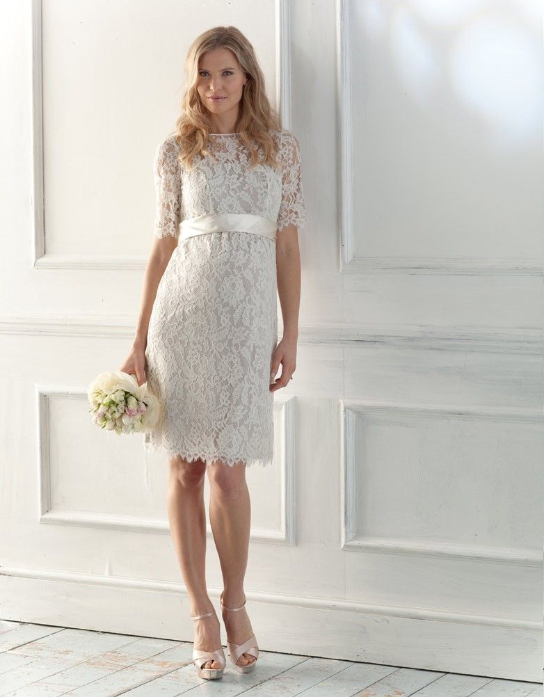 Lace Maternity Wedding Dress by Seraphine | ♥ Wedding Dresses ...