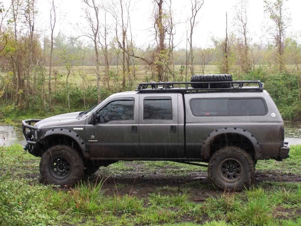 Roof Rack With Shell F250 Google Search Truck Stuff