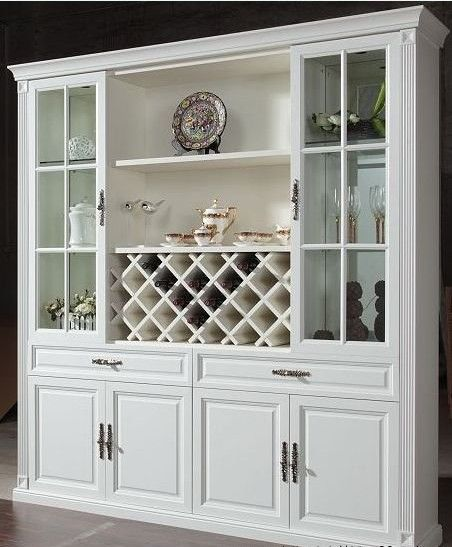 China Cabinet With Wine Rack Wine Storage Cabinets China Cabinet Crockery Cabinet