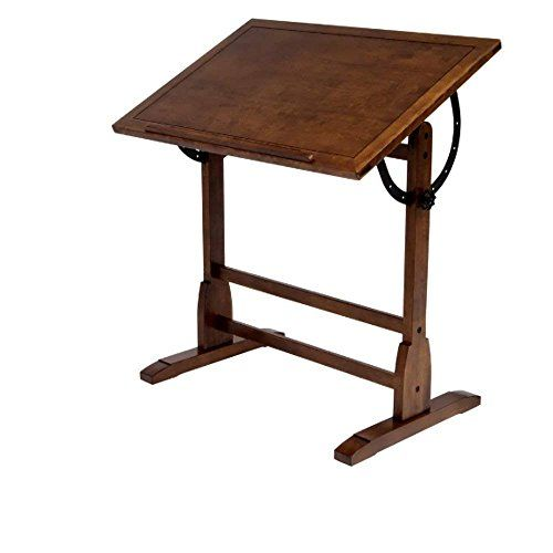 Beau Drafting Tables For Adults, Vintage Contemporary Black Table For Tall  Adjustable Classic Wooden Drafting Table