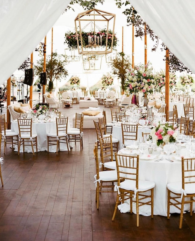 20 Tented & Outdoor Wedding Decoration Ideas Outdoor
