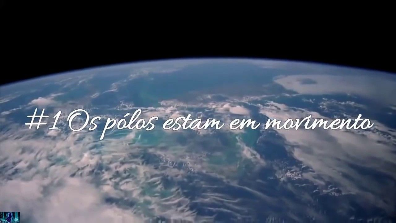 Pólos da Terra se invertendo consideravelmente...