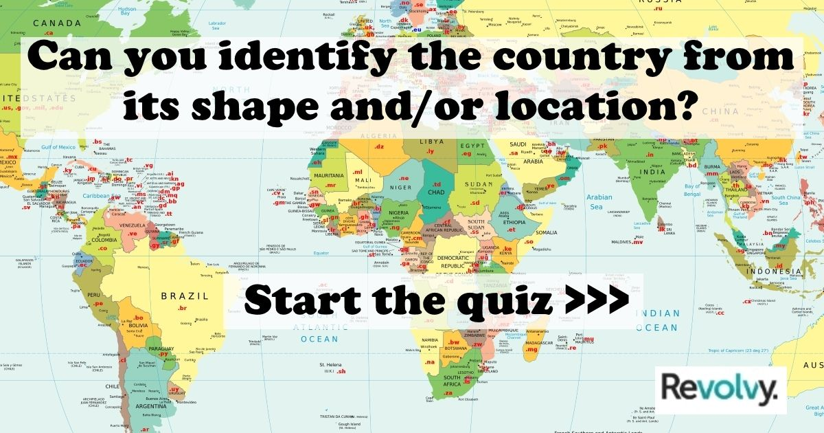 Take The Countries Of The World Quiz On HttpRevolvycom - Countries of the world quiz