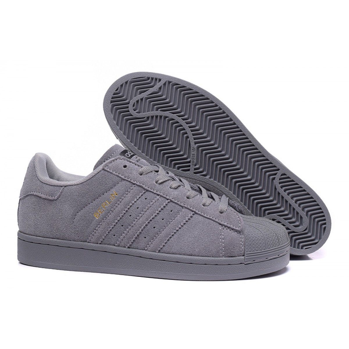 huge selection of a1f16 30224 Adidas Originals Superstar 80s BERLIN Scarpe - Unisex - Grigio