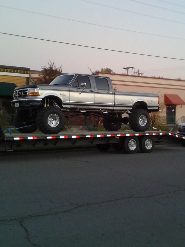 1997 Ford F350 Dually Lifted : dually, lifted, Jerry, Miller, F-series, Lifted, Trucks,