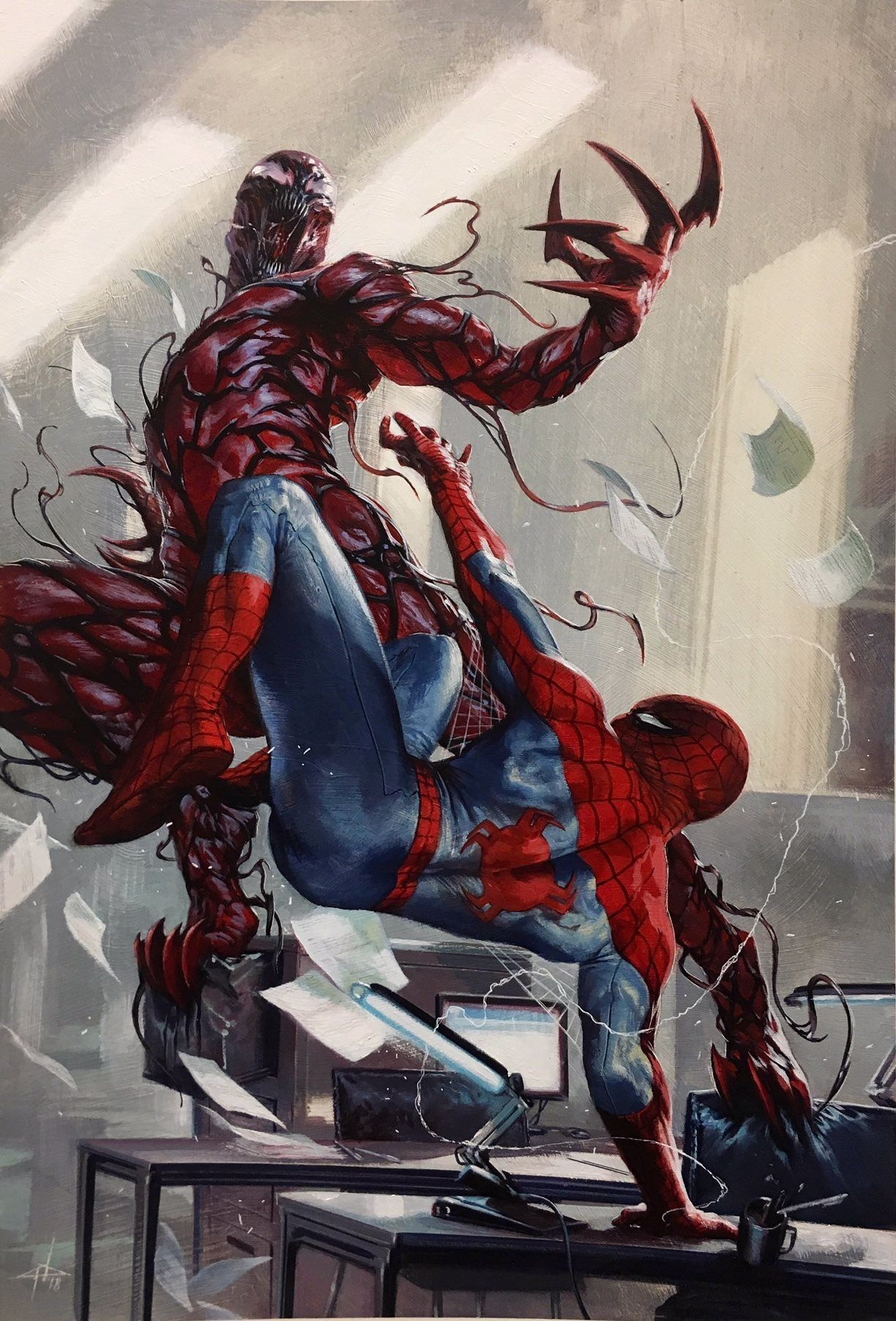 Amazing Spider-Man #1 MARVEL Comics 2018 NM Cheung Variant Cover