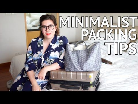 MINIMALIST PACKING TIPS | How to pack hand luggage ONLY! - YouTube