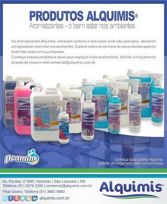 Alquimis Química Industrial: Aromatizantes Alquimis