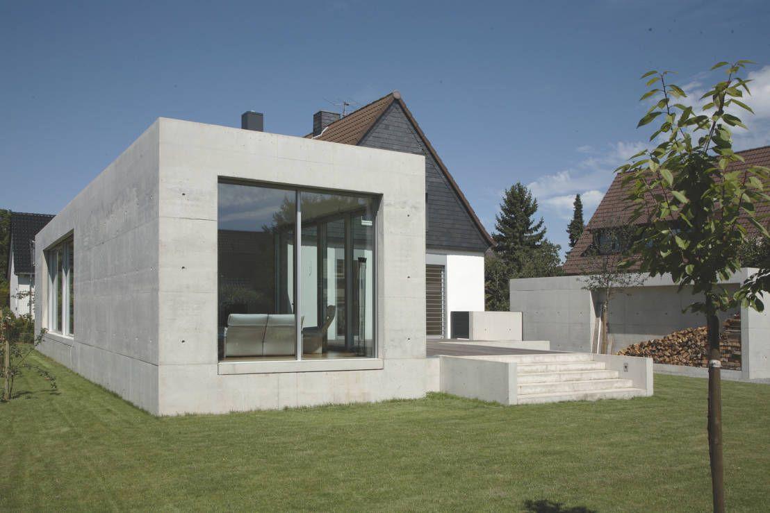 Einfamilienhaus in duisburg moderne häuser von oliver keuper architekt bda