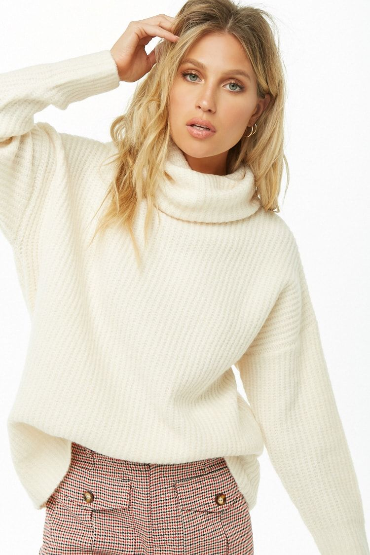 Express Cowl Neck Cable Knit Sweater Sweaters Cable Knit Sweater Fashion