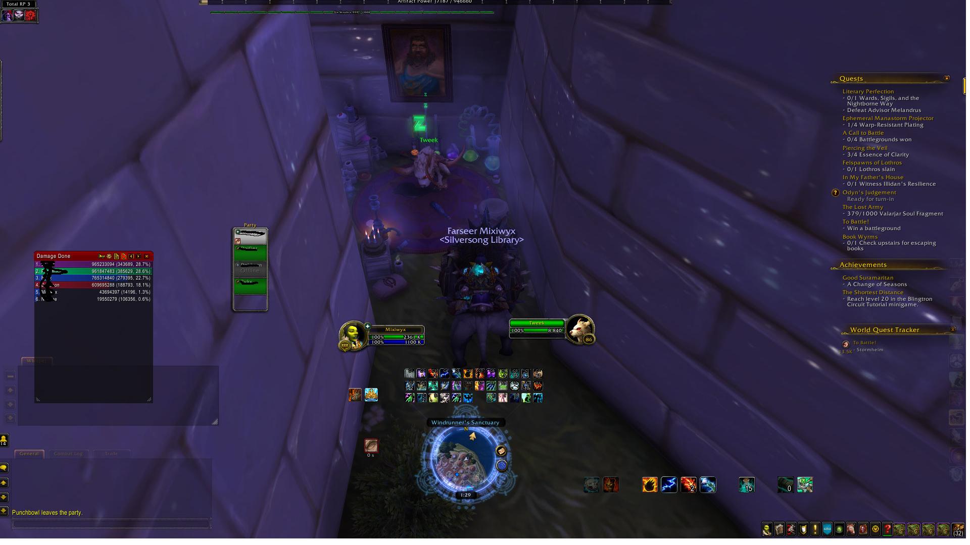 Why is this bunny in Dalaran? Tweek was in Panda. #worldofwarcraft #blizzard #Hearthstone #wow #Warcraft #BlizzardCS #gaming