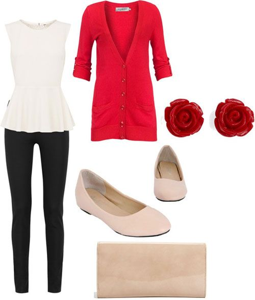Casual Christmas Party Outfits 2013/ 2014 | Polyvore Xmas Costumes Ideas |  Girlshue - Casual Christmas Party Outfits 2013/ 2014 Polyvore Xmas Costumes