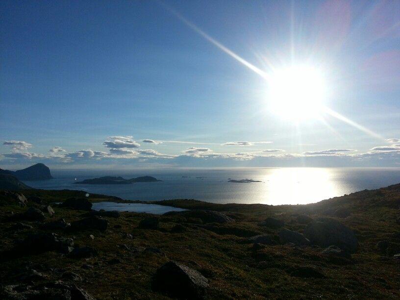 The Atlantic coast outside Tromsoe, Norway