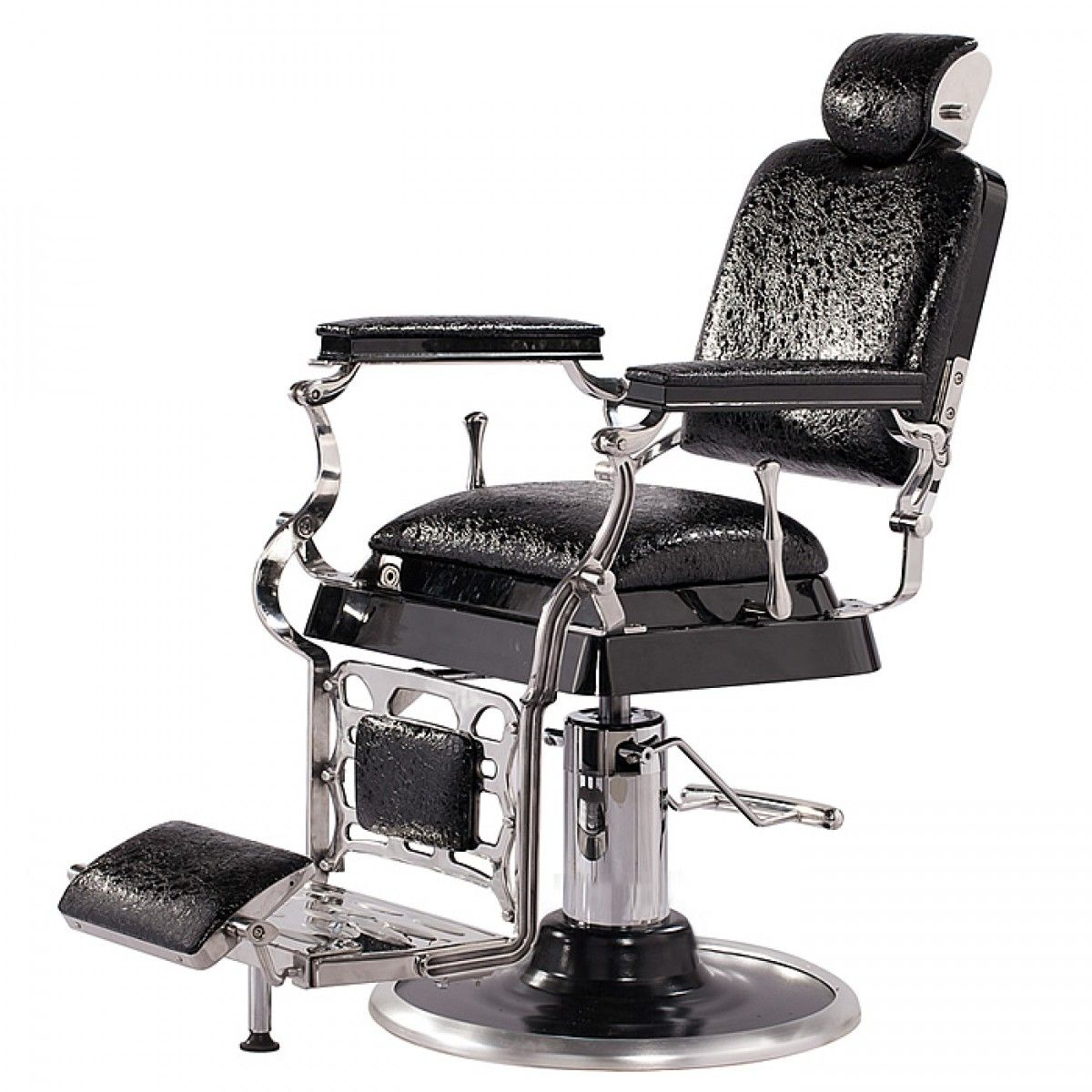 Emperor Barber Chair Chairs Inspired By The Original Design Dating Back To This Antique Style With High Grade Crocodile Vinyl