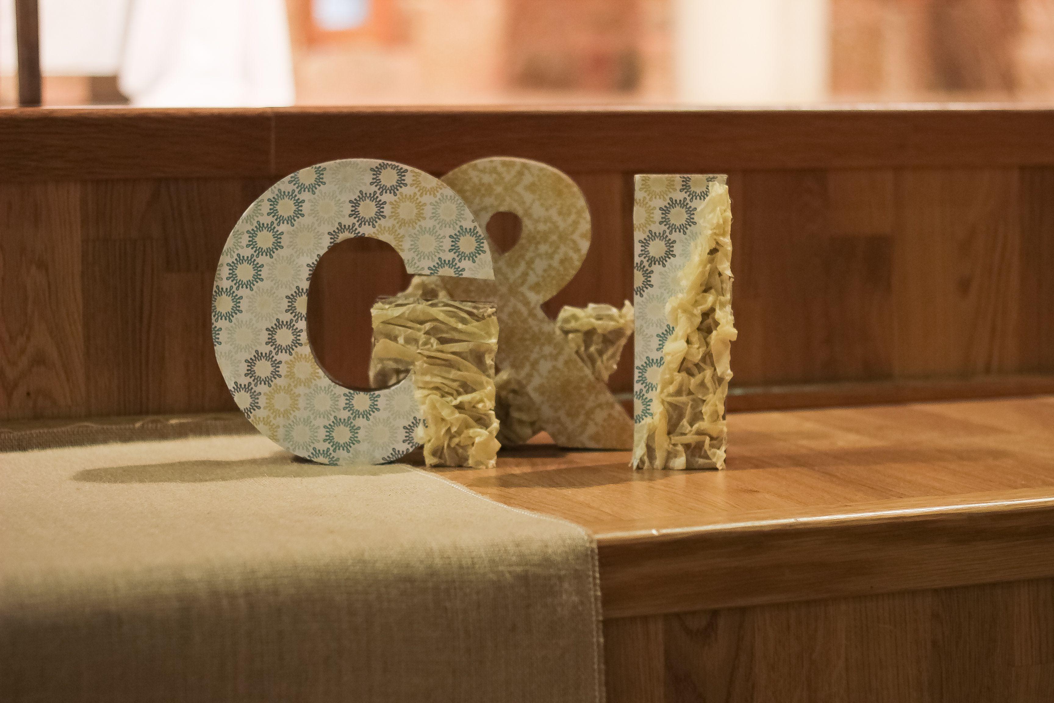 Boda Gemma&Isaac. #letters #letras #wedding #decoration #decoración #bodas #boda