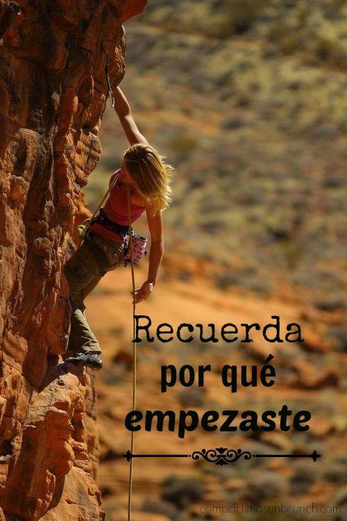 Recuerda Por Qué Empezaste Escalada En Roca Chica