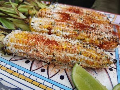 Mexican Grilled Corn! Elote Asado. Most popular Mexican street food! Dinner Night: Mexico's Crazy Corn!