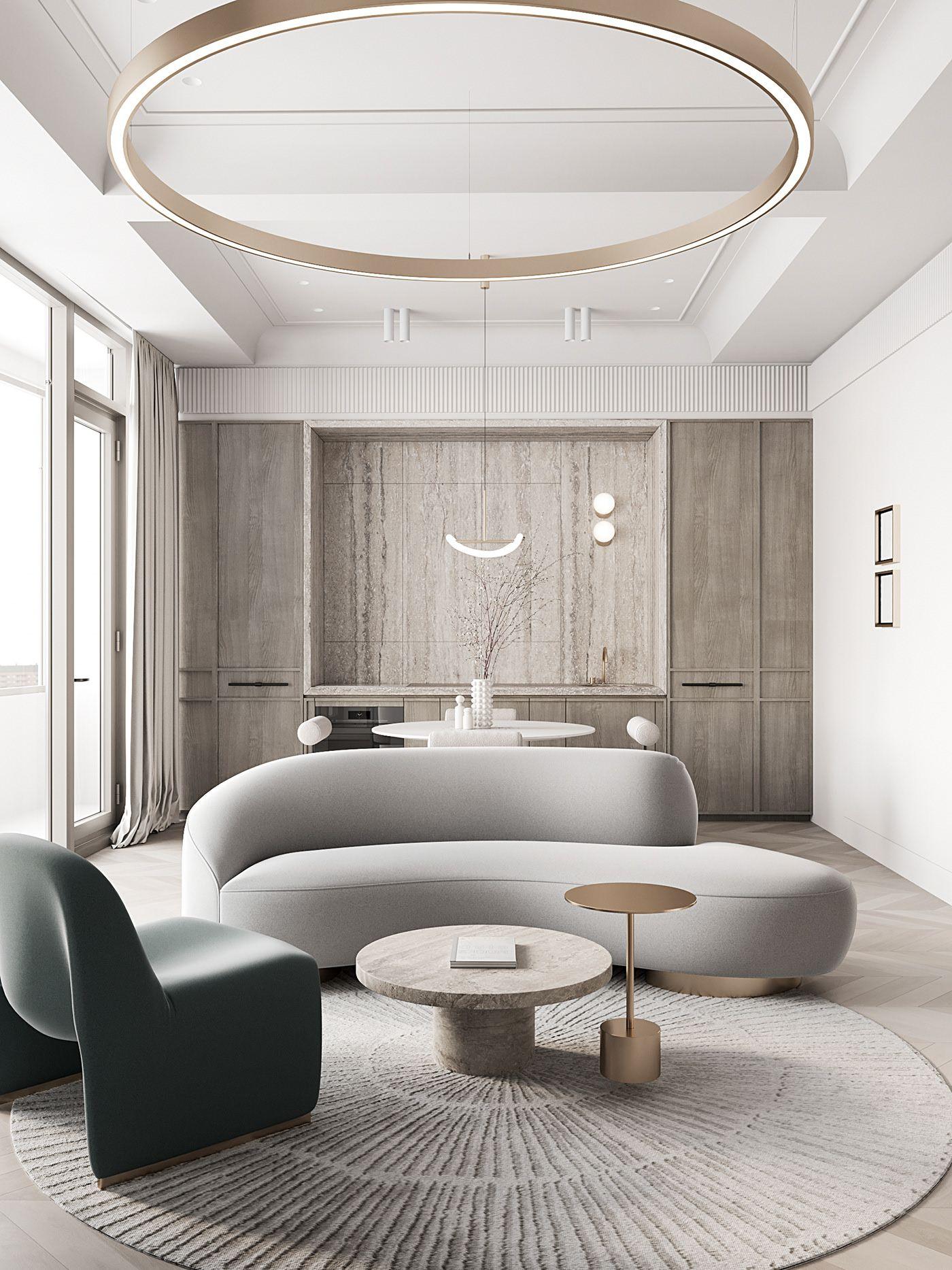 Bedroom In Heaven Tones Luxury Interior Luxury Living Room Interior Design Trends Living room trends 2021