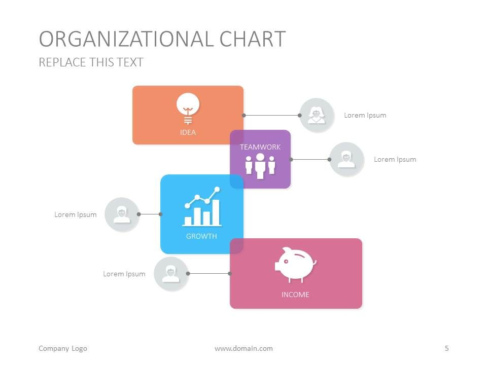 Heres An Organizational Chart Slide Template For A Google - Google presentation templates